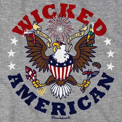 Wicked American T-Shirt - Chowdaheadz