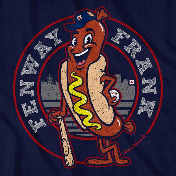Boston Fenway Frank T-Shirt - Chowdaheadz