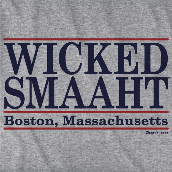 Wicked Smaaht Boston Bar T-Shirt