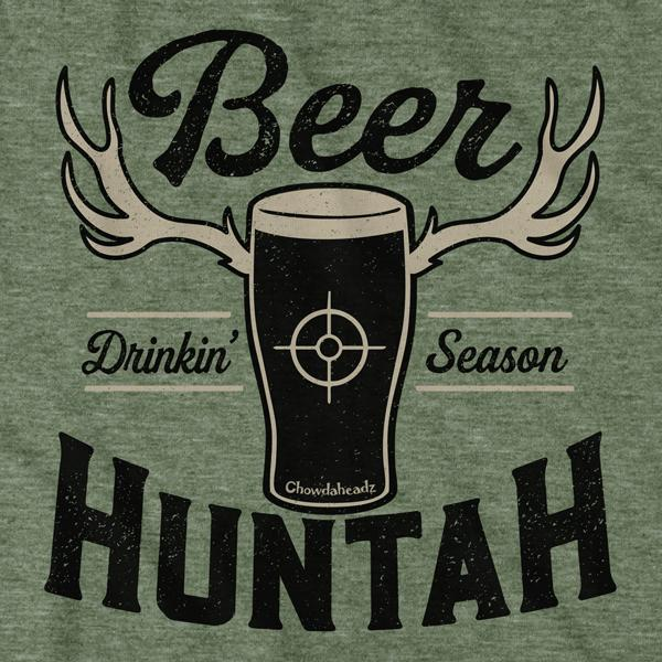 Boston Beer Huntah T-Shirt - Chowdaheadz