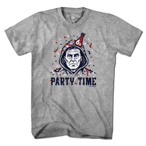 Belichick Party Time T-Shirt