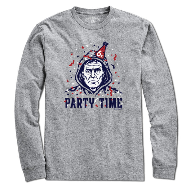 Party Of Five Celebration Time T-Shirt - Chowdaheadz