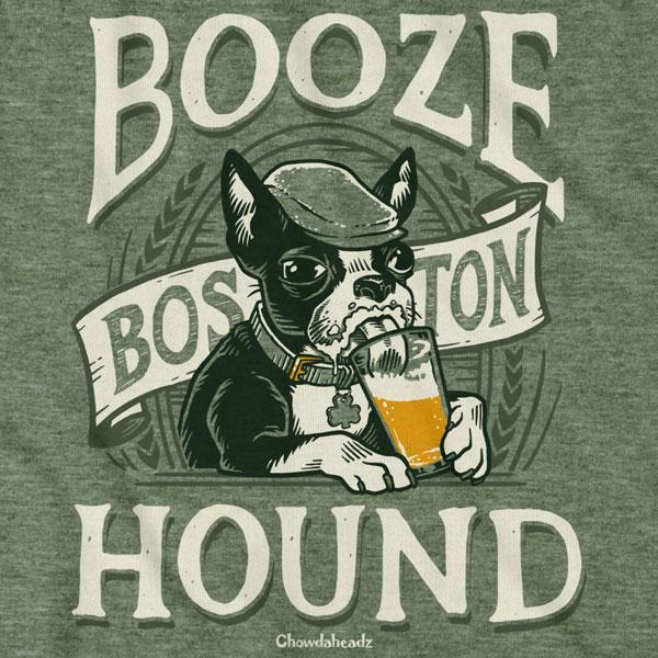Boston Booze Hound T-Shirt - Chowdaheadz