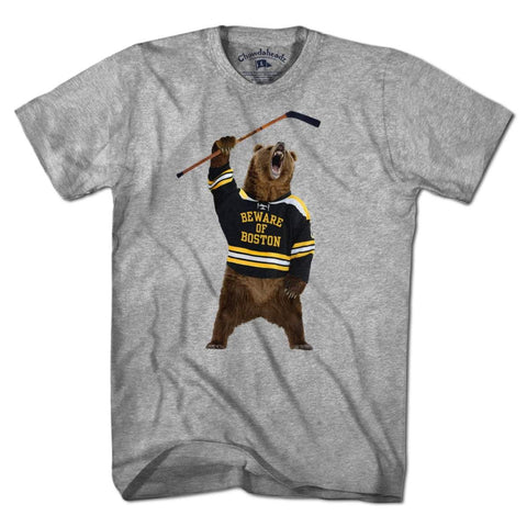 Beware of Boston Bear T-Shirt - Chowdaheadz