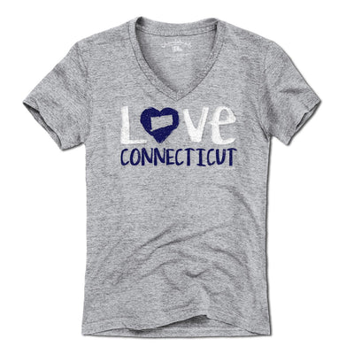 Love Connecticut T-Shirt - Chowdaheadz