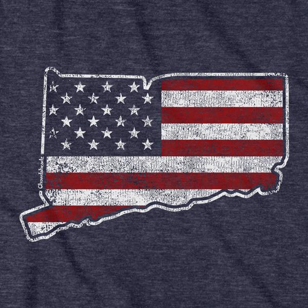 Connecticut USA T-Shirt - Chowdaheadz