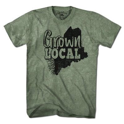 Grown Local Maine T-Shirt - Chowdaheadz