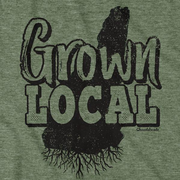 Grown Local New Hampshire T-Shirt - Chowdaheadz