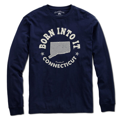 Born Into It Connecticut T-Shirt - Chowdaheadz