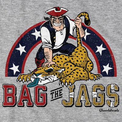Bag The Jags New England T-Shirt - Chowdaheadz