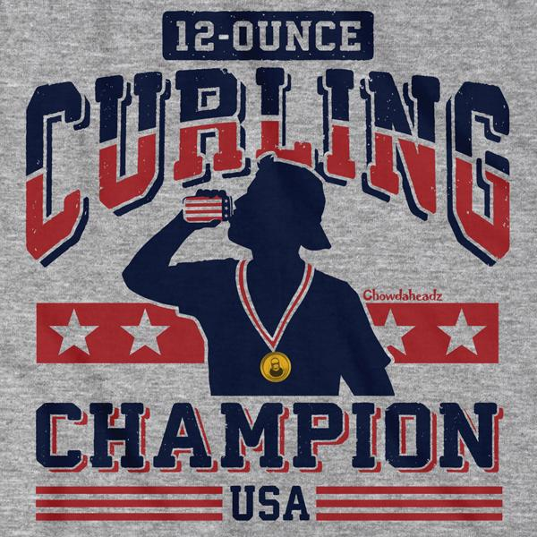 12-Ounce Curling Champion T-Shirt 1
