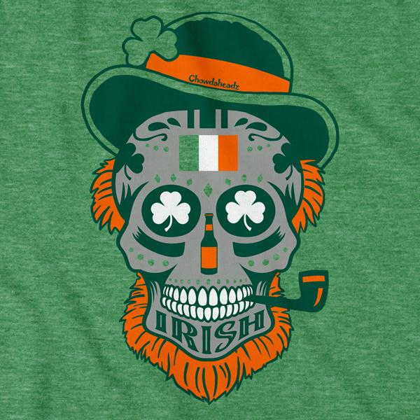 Irish Dead Head T-Shirt - Chowdaheadz