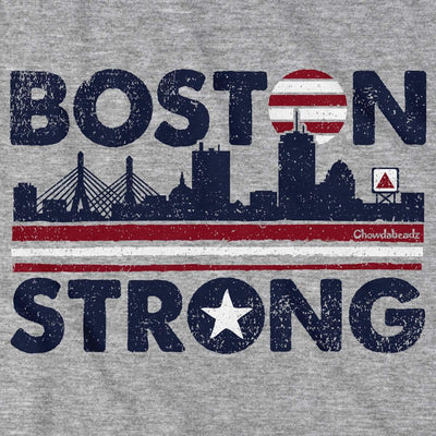 Boston Strong USA T-Shirt - Chowdaheadz