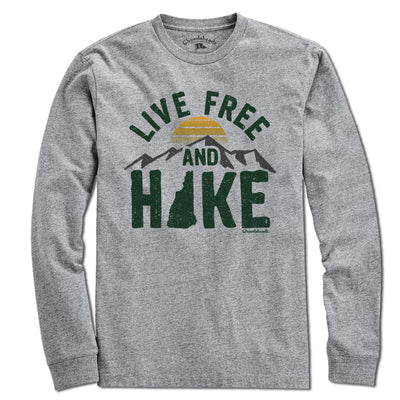 Live Free and Hike T-Shirt - Chowdaheadz