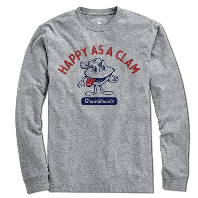 Happy As A Clam T-Shirt - Chowdaheadz