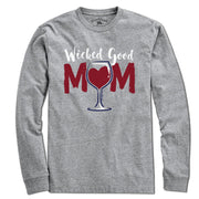 Wicked Good Mom Wine T-Shirt - Chowdaheadz