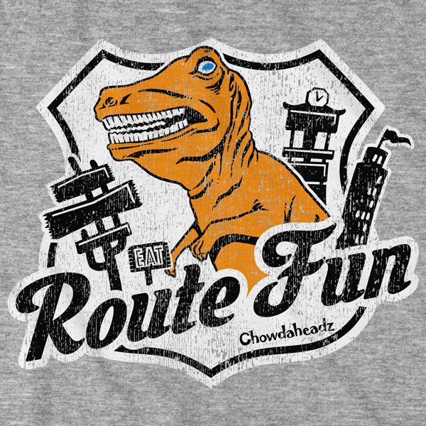 Route Fun T-Shirt - Chowdaheadz
