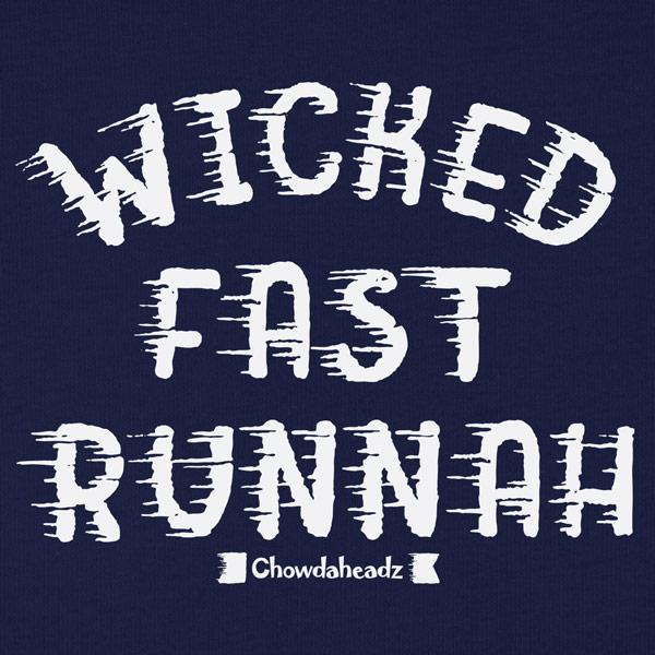 Wicked Fast Runnah T-Shirt - Chowdaheadz