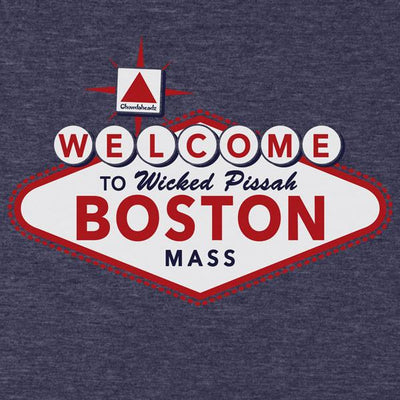 Welcome to Boston Sign T-Shirt - Chowdaheadz