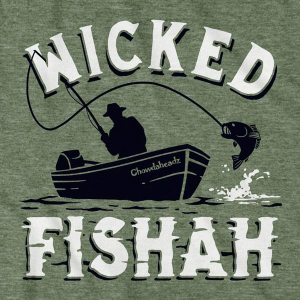 Wicked Fishah T-Shirt - Chowdaheadz