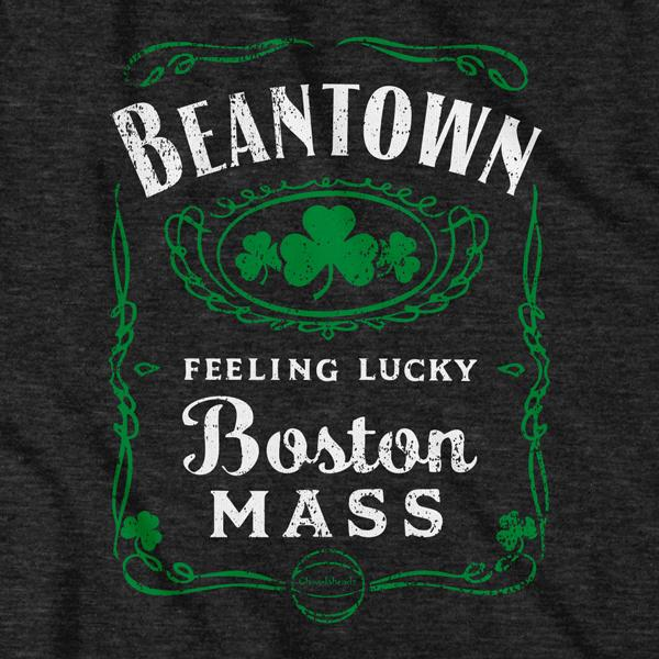 Beantown Boston Mass Label T-Shirt - Chowdaheadz