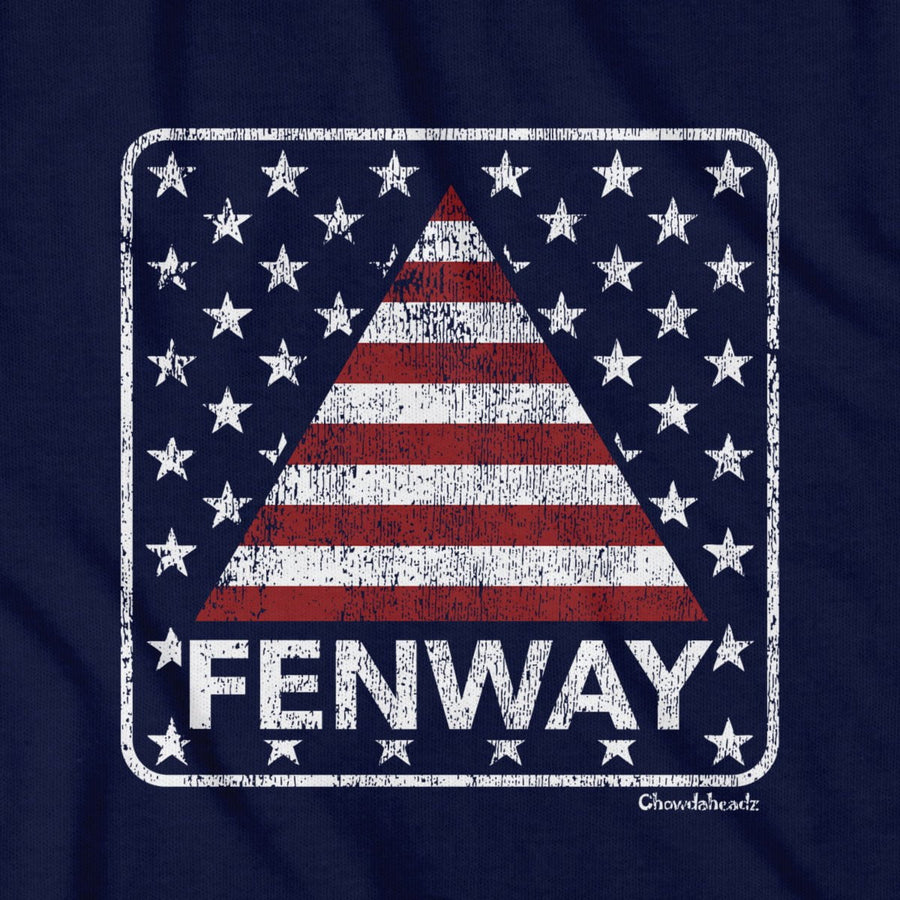 Fenway Stars & Stripes T-Shirt - Chowdaheadz