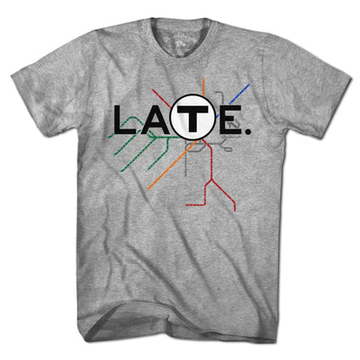 Late Commuter T-Shirt - Chowdaheadz