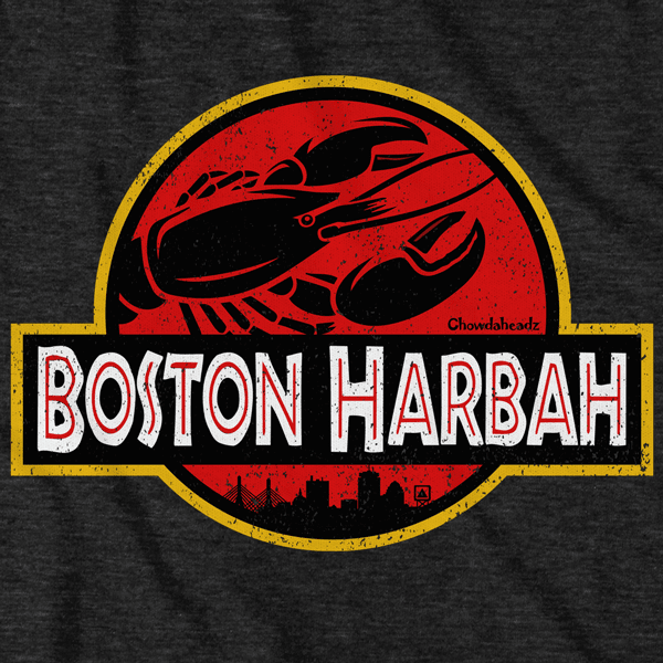 Boston Harbah Lobstah T-Shirt - Chowdaheadz