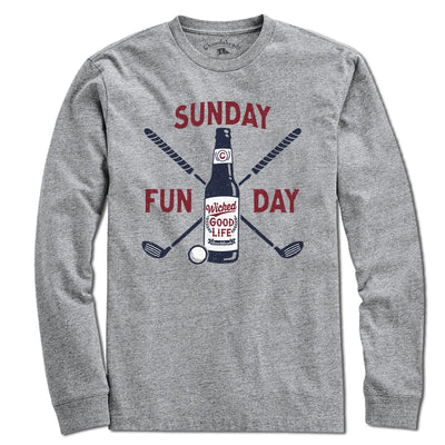 Sunday Funday Golf T-shirt - Chowdaheadz
