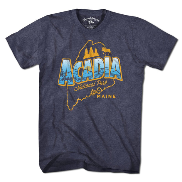 Acadia National Park T-Shirt - Chowdaheadz
