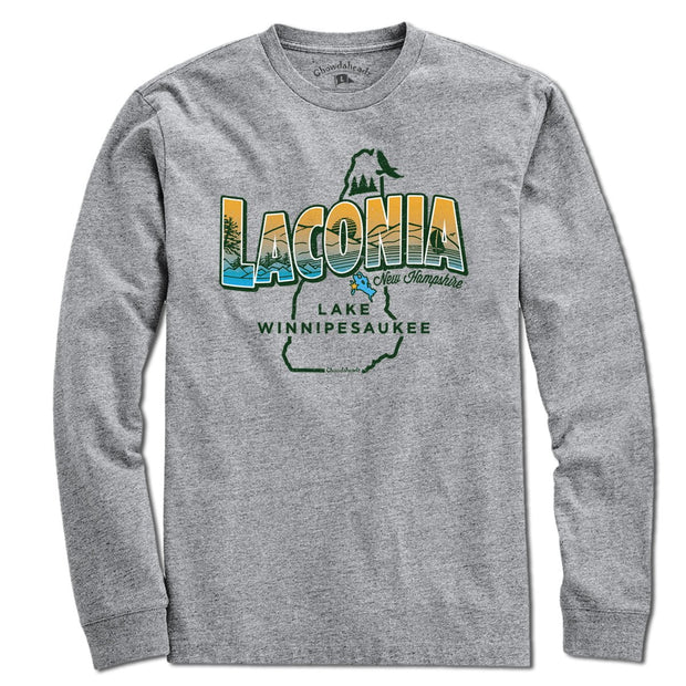Laconia New Hampshire T-Shirt - Chowdaheadz