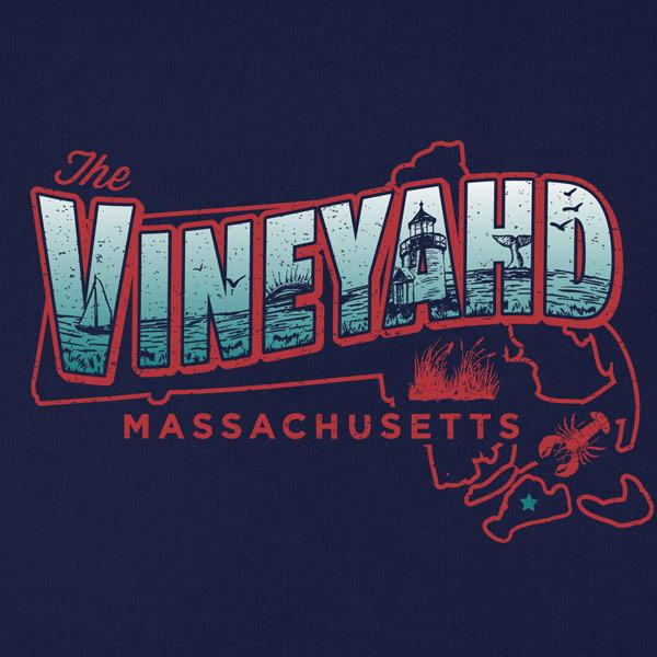 The Vineyahd T-Shirt - Chowdaheadz