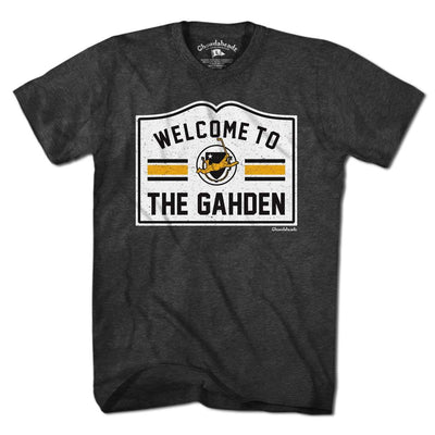 Welcome to the Gahden Hockey T-Shirt - Chowdaheadz