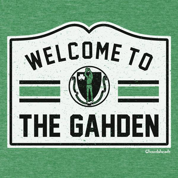 Welcome To The Gahden Basketball Tee - Chowdaheadz