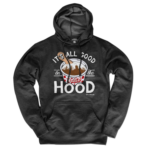 It's All Good in the Hood Lightweight Hoodie - Chowdaheadz