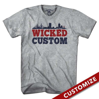 Wicked Custom T-Shirt - Chowdaheadz