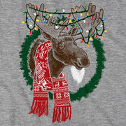Merry Christmoose Holiday T-Shirt - Chowdaheadz