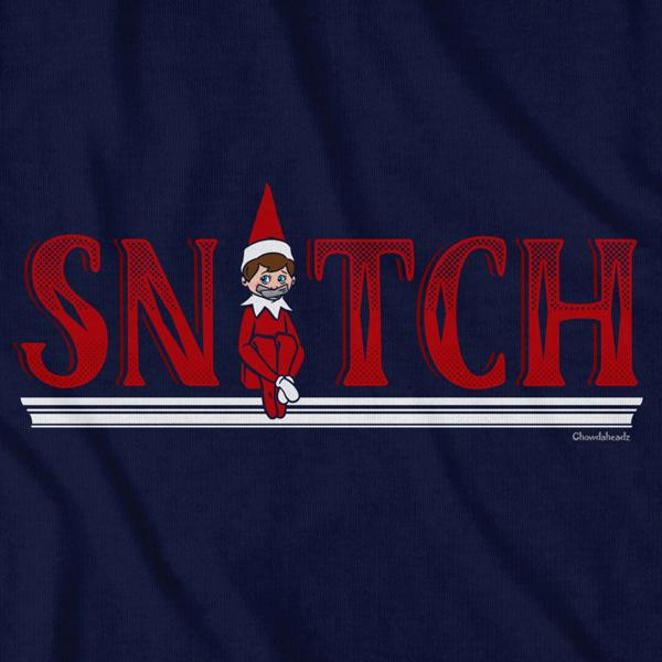 Snitch on the Shelf Holiday T-Shirt - Chowdaheadz
