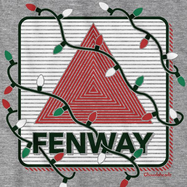 Fenway Holiday Lights T-Shirt - Chowdaheadz