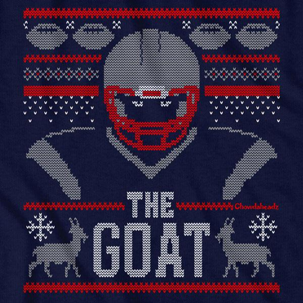 The Goat Ugly Holiday Sweater T-Shirt - Chowdaheadz