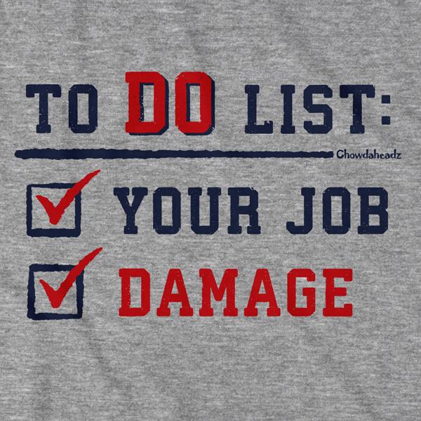 To Do List T-Shirt - Chowdaheadz