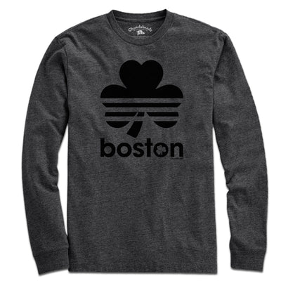 Boston Shamrock Blackout T-Shirt - Chowdaheadz