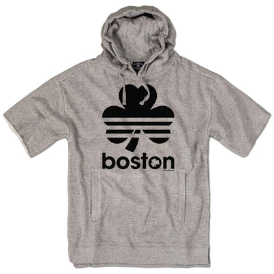 Boston Retro Shamrock Coach Hoodie - Chowdaheadz