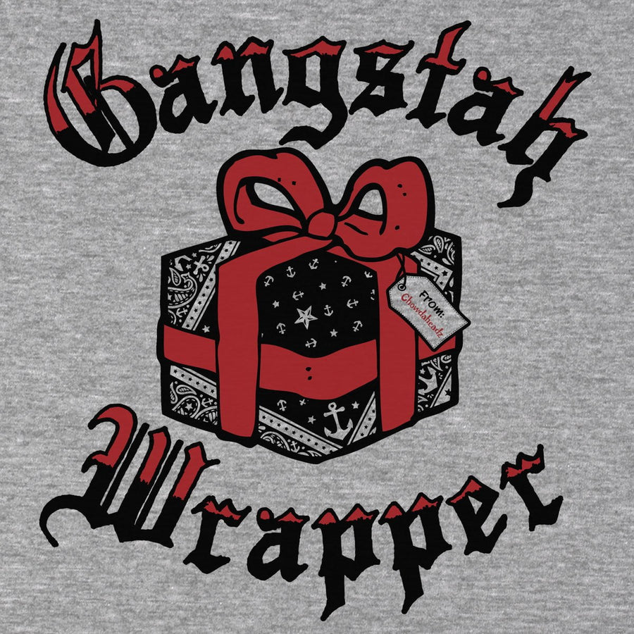 Gangstah Wrapper Holiday T-Shirt - Chowdaheadz