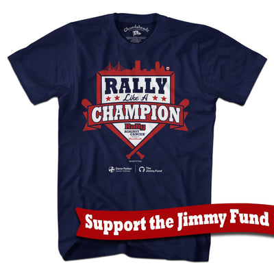 Rally Like A Champion T-Shirt - Chowdaheadz