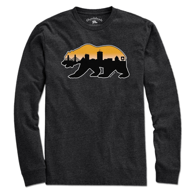 Boston Bear Skyline T-Shirt - Chowdaheadz