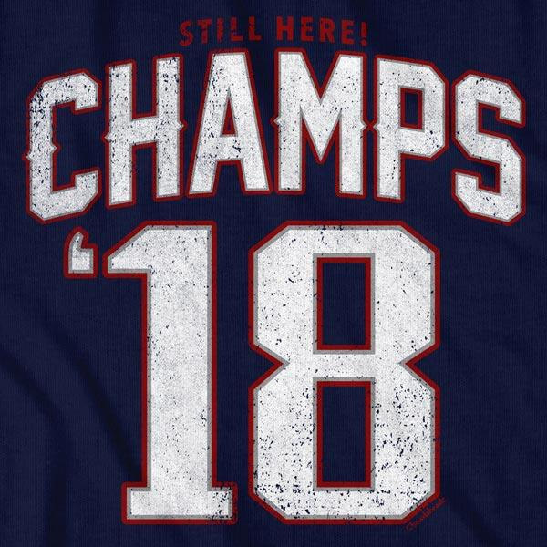 New England Champs '18 T-Shirt - Chowdaheadz