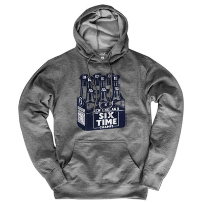 New England Six Pack Lightweight Hoodie - Chowdaheadz