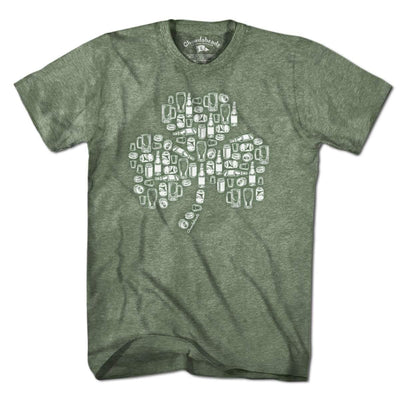 St. Paddy's Aftermath Shamrock T-Shirt - Chowdaheadz