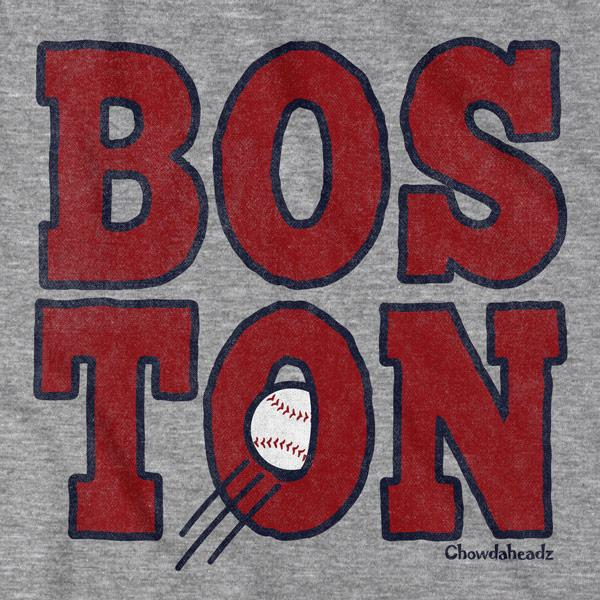 Boston Stacked T-Shirt - Chowdaheadz